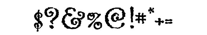 Greymantle MVB Extras Regular Font OTHER CHARS