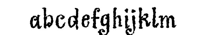 Greymantle MVB Extras Regular Font LOWERCASE