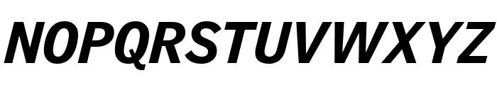 GriffithGothic BlackItalic Font UPPERCASE