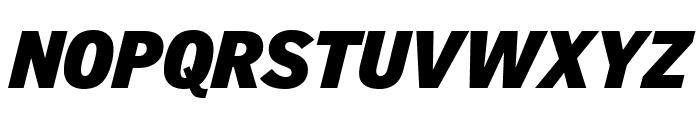 GriffithGothic UltraItalic Font UPPERCASE