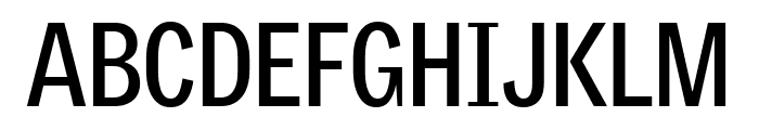 GriffithGothicCond Bold Font UPPERCASE