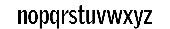 GriffithGothicCond Bold Font LOWERCASE