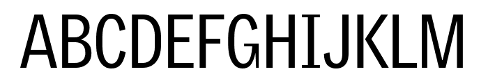 GriffithGothicCond Regular Font UPPERCASE
