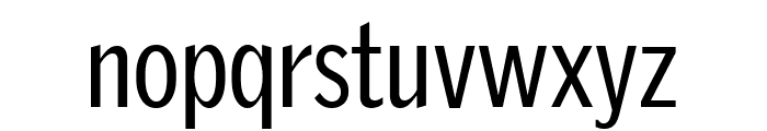 GriffithGothicCond Regular Font LOWERCASE