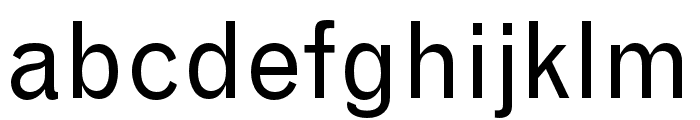 Grotesque MT Std Condensed Font LOWERCASE