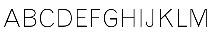 Grotesque MT Std Light Condensed Font UPPERCASE