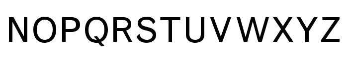 Grotesque MT Std Regular Font UPPERCASE