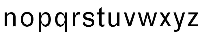 Grotesque MT Std Regular Font LOWERCASE