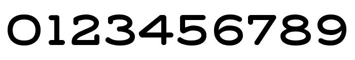 Grover Slab Caps Regular Font OTHER CHARS