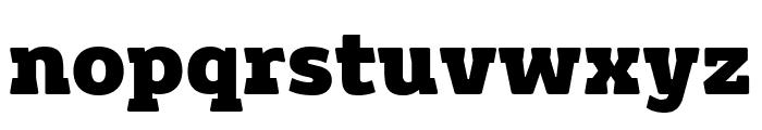 Grueber Bold Font LOWERCASE