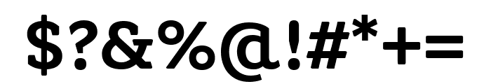 Grueber Regular Font OTHER CHARS