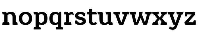 Grueber Regular Font LOWERCASE