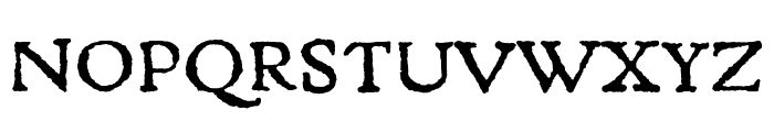 Gryphius MVB Small Caps Font UPPERCASE
