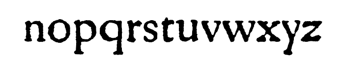 Gryphius MVB Small Caps Font LOWERCASE