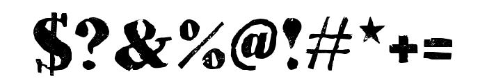 HVD Bodedo Regular Font OTHER CHARS