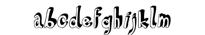 HVD Steinzeit Fill In Font LOWERCASE