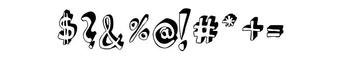 HVD Steinzeit Regular Font OTHER CHARS
