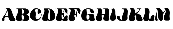 HWT Arabesque Regular Font UPPERCASE