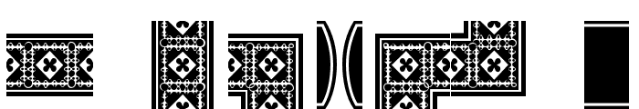 HWT Borders One Regular Font OTHER CHARS