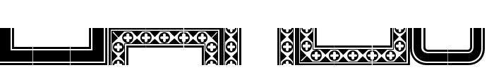 HWT Borders One Regular Font LOWERCASE