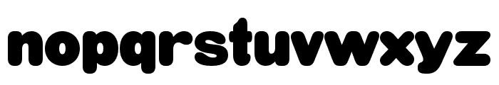 HWT Gothic Round Plain Font LOWERCASE