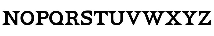HWT VanLanen Streamer Font LOWERCASE
