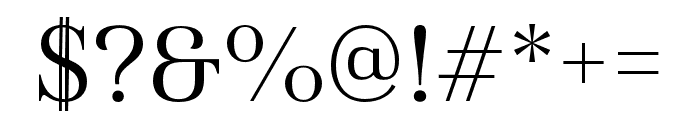 Haboro Cond Book Font OTHER CHARS