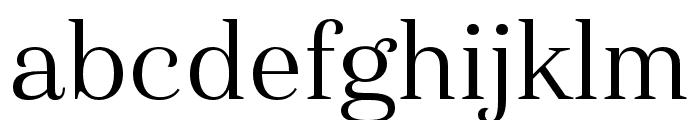 Haboro Cond Book Font LOWERCASE