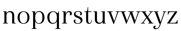 Haboro Cond Regular Font LOWERCASE
