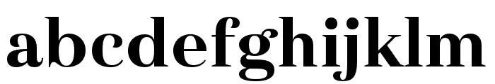 Haboro Ext ExBold Font LOWERCASE