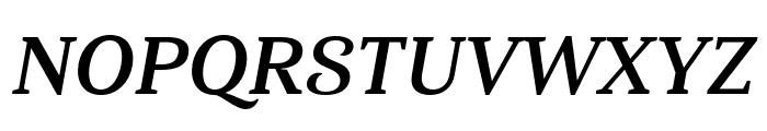 Haboro Serif Cond Bold It Font UPPERCASE