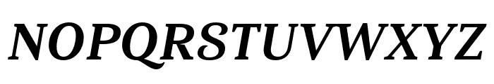 Haboro Serif Cond ExBold It Font UPPERCASE
