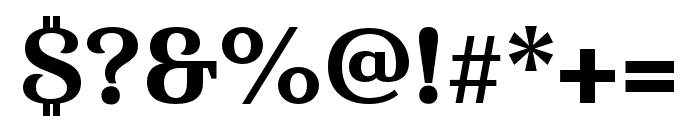Haboro Serif Cond ExBold Font OTHER CHARS
