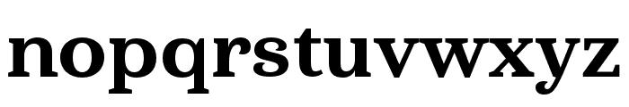 Haboro Serif Cond ExBold Font LOWERCASE