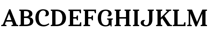 Haboro Serif Ext Bold Font UPPERCASE