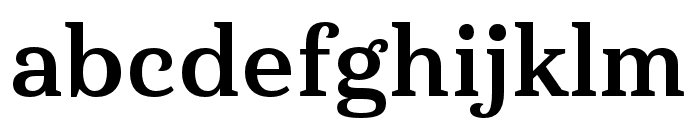 Haboro Serif Ext Bold Font LOWERCASE