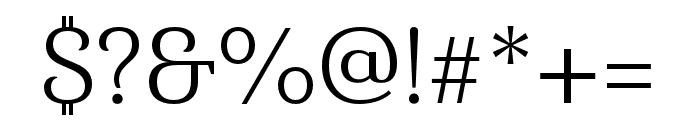 Haboro Serif Ext Book Font OTHER CHARS