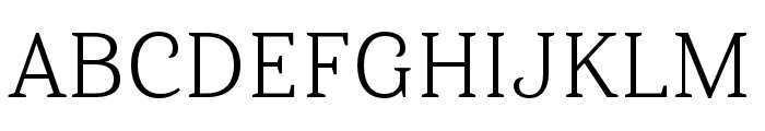 Haboro Serif Ext Book Font UPPERCASE