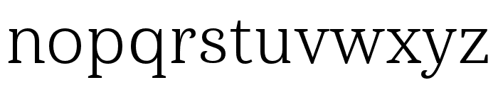 Haboro Serif Ext Book Font LOWERCASE