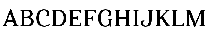 Haboro Serif Ext Demi Font UPPERCASE