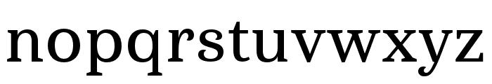 Haboro Serif Ext Demi Font LOWERCASE
