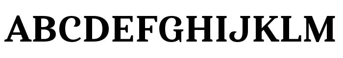 Haboro Serif Ext ExBold Font UPPERCASE
