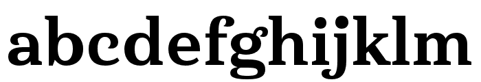 Haboro Serif Ext ExBold Font LOWERCASE