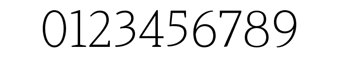Haboro Serif Ext Light Font OTHER CHARS