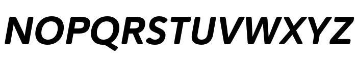 Haboro Soft Cond ExBold Italic Font UPPERCASE