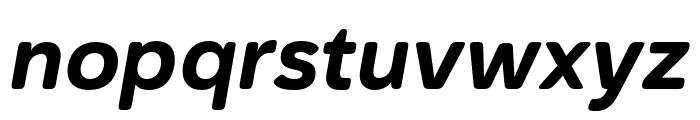 Haboro Soft Cond ExBold Italic Font LOWERCASE