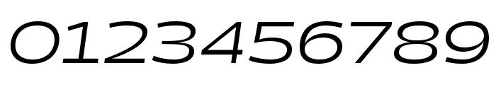 Halogen Regular Oblique Font OTHER CHARS