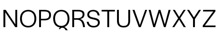 Halyard Display Book Font UPPERCASE