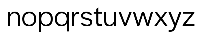 Halyard Display Book Font LOWERCASE