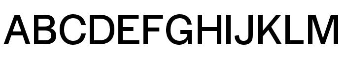 Halyard Display Regular Font UPPERCASE